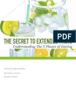 5 Phases of Fasting