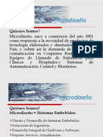 Presentacion Empresa Microdiseño