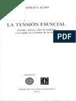 La Tension Esencial - La Historia de La Ciancia Thomas Kuhn009