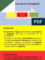 Estructura Monografía