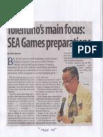 Manila Standard, July 30, 2019, Tolentino's main focus SEA Games preparations.pdf