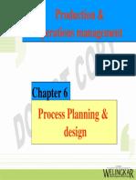 Ch6Process Planning