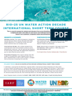 UN WATER ACTION DECADE
