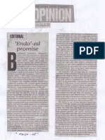 Philippine Daily Inquirer, Endo - ed promise.pdf