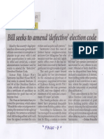 Philippine Star. July 30, 2019, Bill seeks to amend defective election code.pdf