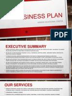 Business Plan for Hamar Vocational Center 1