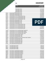 Retail Price List HOSPORT (1April2016)