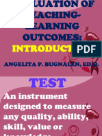 A1. Evaluation of the Teaching-Learning Outcomes - PPT.ppt