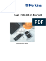 Gas Installation Manual - 2000, 3000 and 4000 Series
