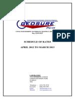 Price List April 2012 - March 2013