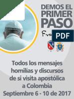 Textos complicados del papa Francisco en Colombia
