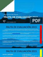 Pauta de Evaluación - Gmm David Escobar