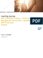 SAP S_4HANA Finance - Financial and Management Accounting - Upskilling for SAP ERP Financials_Experts_Jul 2019