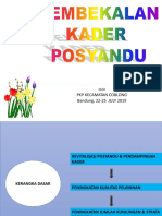 Pembekalan Kader Posyd.pkp