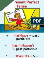 The Present Perfect Tense Grammar Guides 4745