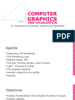 01_Introduction to Computer Graphics and Visualization
