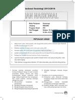 Sosiologi Sma Ips 2014