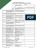 F-1705 Internal Audit Check List