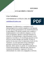 ESTUDIOS de Demonología en La Apocalíptica y Qumrán1
