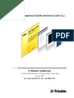 Panduan Pengunaan Trimble Business Center 3.10