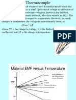 Thermocouple presentation