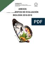 Anexos Instrumentos Biología 2018-2019