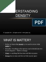 Understanding Density
