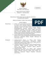 Perbup 11 2019 ttg Penurunan Prevalensi Balita Pendek Stunting di Kab Demak