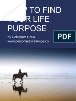 How to Find Your Life Purpose Personal Excellence eBook