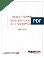 Mastercam 2017 for SOLIDWORKS Tutorial Lathe