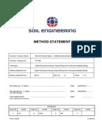 CD.rfi .WM.22.1 Soil Engineering Method Statement