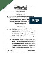 Oj s 2012 Procedural Laws