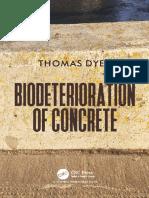 bideterioration of concrete