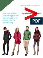 Accenture UNIQLO Fast Retailing Credential