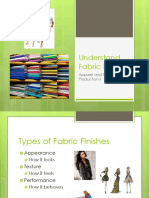 Understand Fabric Finishes Ppt for Students