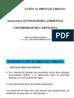 1. Introducción Drenaje Urbano