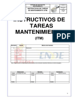 Instructivos de Tareas Mantenimiento 06