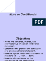 More on Conditionals