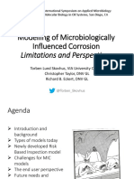 Modeling of Microbiological Influenced Corrosion Limitations and Perspectives Torben L Skovhus via University College (1)
