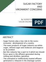 SUGAR FACTORY and Environment