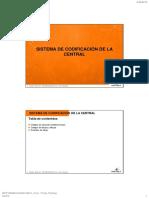 5 Sistema de Codificación de La Central