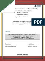 Modélisation Et Simulation de Quelques Systèmes de Rafraichissements PASSIF en Climat Algérien