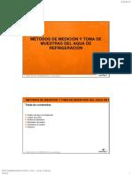 18 Métodos de Medición y Toma de Muestras Del Agua de Refrigeración