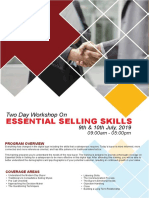 Essential Selling Skills