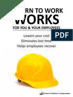 Retiurn to Work Guide