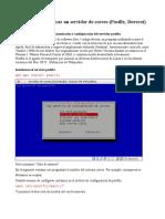 Instalar y Configurar Un Servidor de Correo (Postfix, Dovecot)