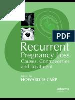 Abortus Berulang Trapi Dan Penatalaksanaan
