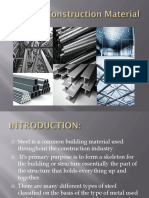 Steel as Construction Material