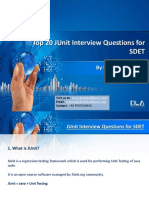 DevLabs Alliance Top 20 JUnit Interview Questions for SDET