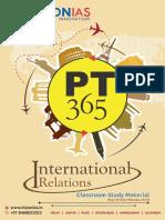 Pt 365 International Relations 2019